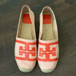 Tory Burch espadrille size 10